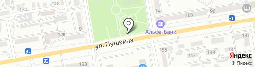 РиО на карте Абакана