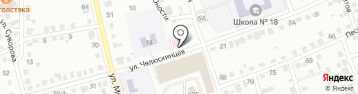 Аптека №58, МП на карте Абакана