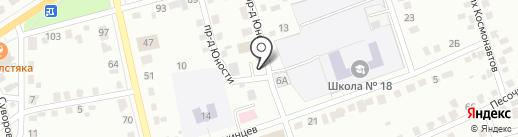 Участковый пункт полиции №7 на карте Абакана