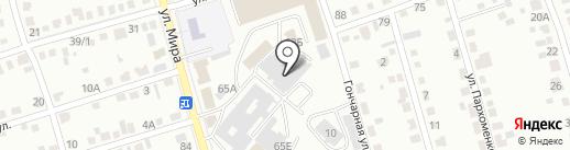 ЮгСтрой на карте Абакана