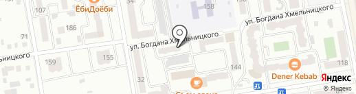 Жарки Lux на карте Абакана