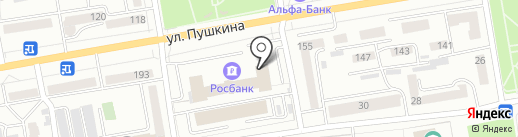 Росбанк, ПАО на карте Абакана