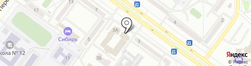 Совкомбанк, ПАО на карте Абакана