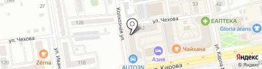 Эксперт-Оценка на карте Абакана
