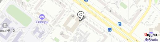 Эрудит КЛАСС на карте Абакана