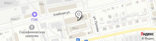 CENNIK-M на карте Абакана