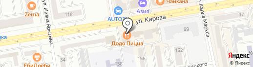 Нотариус Кирякова Н.А. на карте Абакана