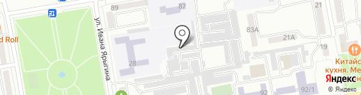 Вело-Сервис на карте Абакана