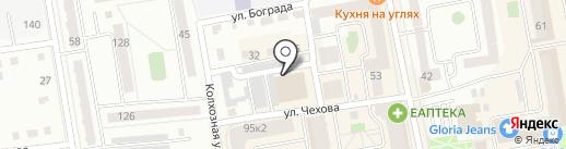 АВТОДОКТОР ХАКАСИИ на карте Абакана