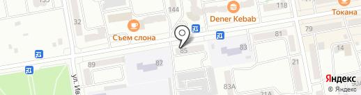 ФОСБОРН ХОУМ на карте Абакана