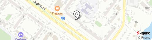 Адвокатский кабинет Лисуненко К.Г. на карте Абакана