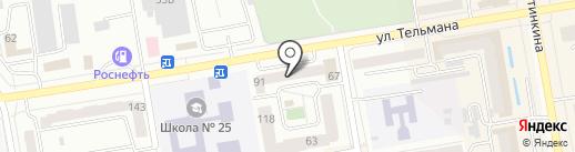 Ксил на карте Абакана