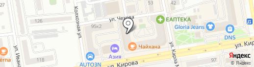Kira Plastinina на карте Абакана