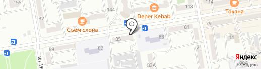 АЙфоня на карте Абакана