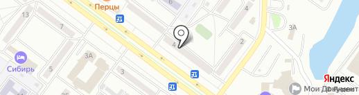 СибТрейд на карте Абакана