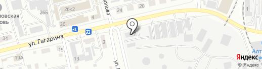 РН-Учёт на карте Абакана