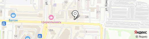 Кондитерская №1 на карте Абакана
