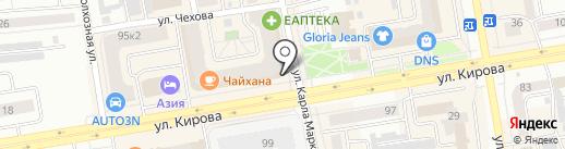 АРХИТЕК на карте Абакана