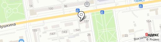 Дача, FM 89.4 на карте Абакана