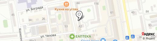 Власта-Уютный на карте Абакана