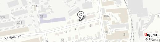 Тепловдом на карте Абакана