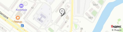 Талисман на карте Абакана