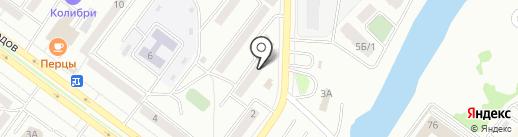 Абаканский центр жилья и ипотеки на карте Абакана