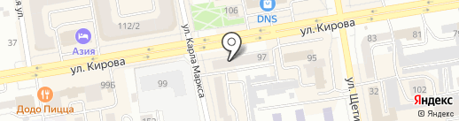 TianDe на карте Абакана