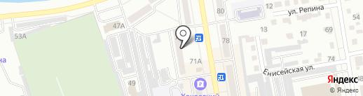 ОК Суши на карте Абакана