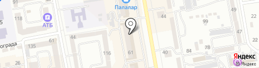 Cavaletto на карте Абакана