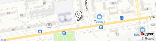 Магазин светодиодного освещения на карте Абакана
