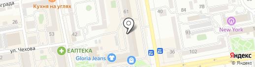 Адвокатский кабинет Богуш Д.С. на карте Абакана