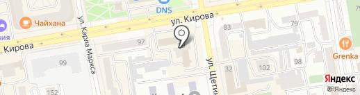 ТВ7 на карте Абакана