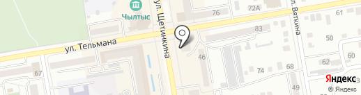 Vivid на карте Абакана