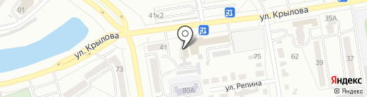 Хан-Куль на карте Абакана