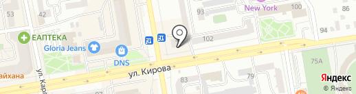 Сибирский Фонд Сбережений, КПК на карте Абакана