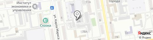 Diller Start на карте Абакана