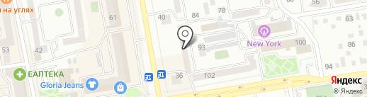 Магазин квартир на карте Абакана
