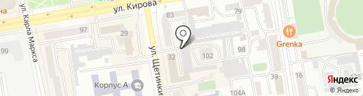 Автосалон на карте Абакана
