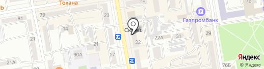 Связной на карте Абакана