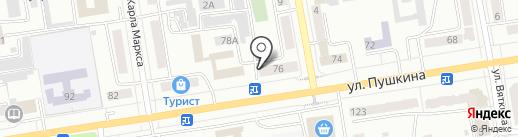 Центр медицинской техники на карте Абакана