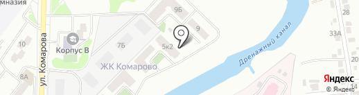 Жилстрой на карте Абакана