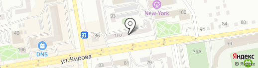 Мастерская по ремонту обуви на ул. Кирова на карте Абакана