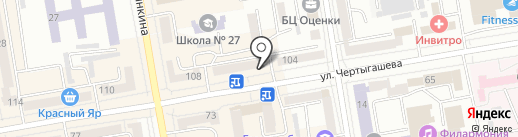 Адвокатский кабинет Рубцовой Е.П. на карте Абакана