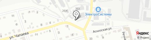 А логистик на карте Абакана