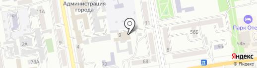 Хакасия.ру на карте Абакана