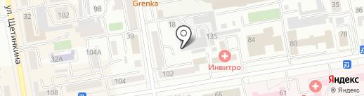 Компания аргоновой сварки на карте Абакана