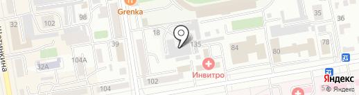 Диван Диваныч+ на карте Абакана