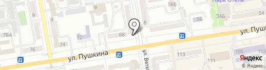 TRITON на карте Абакана
