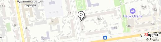 Экспресс фото на карте Абакана